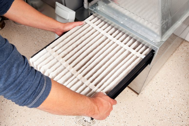Changing Furnace Air Filter